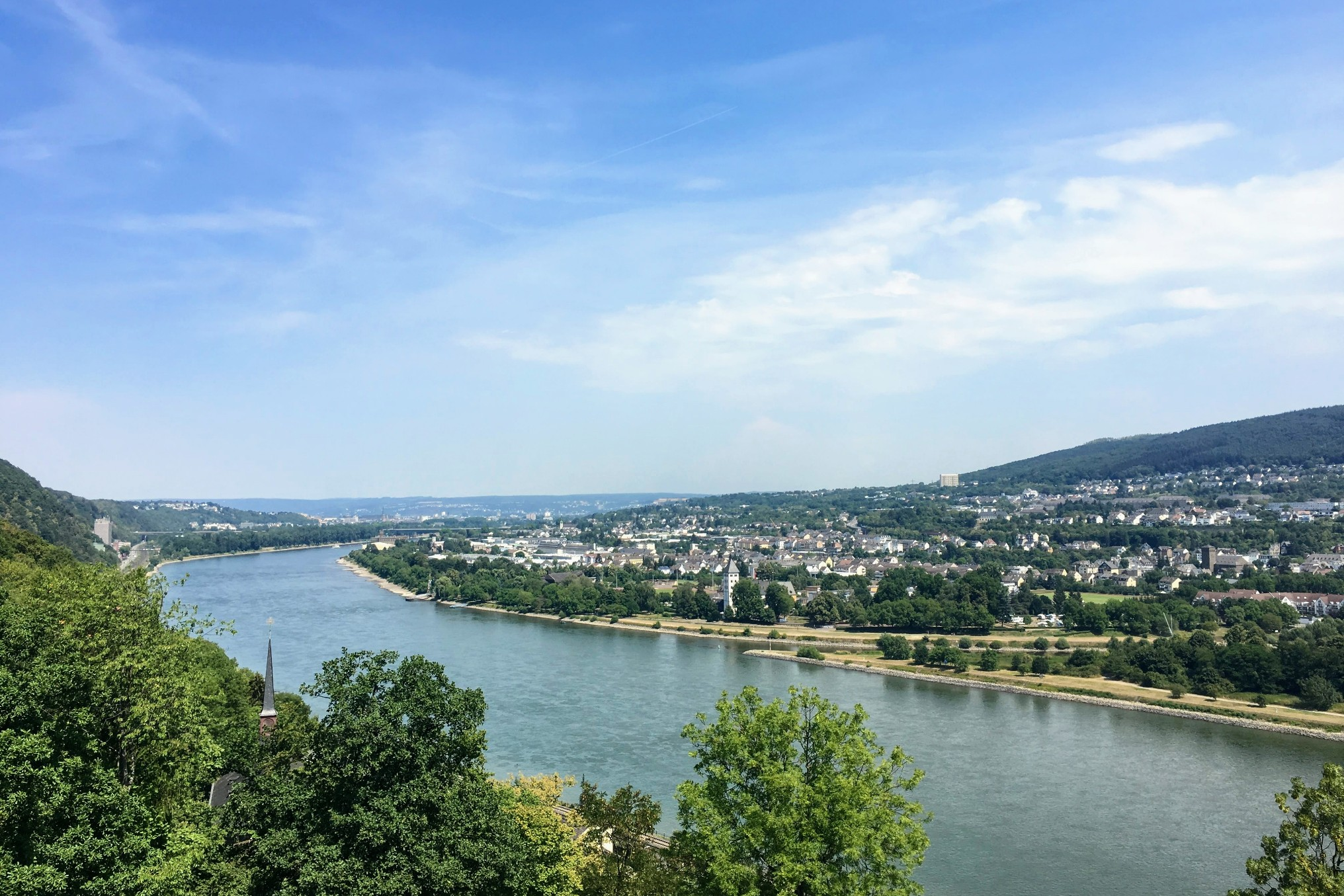 Rhine Cycling Trip