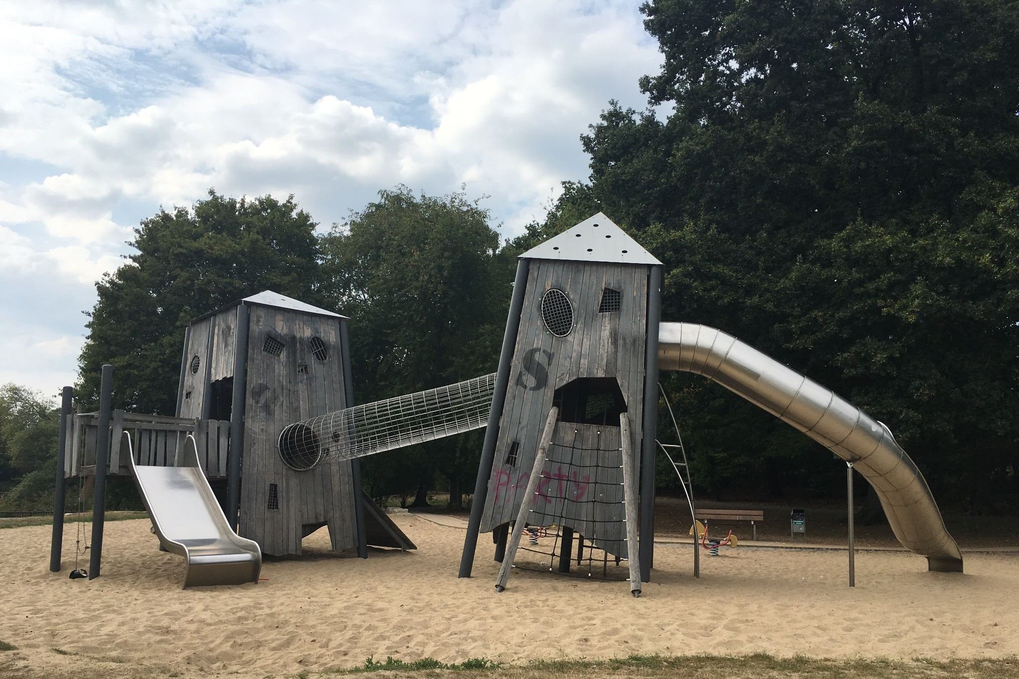 Post-Apocalyptic Playgrounds in Wolfsburg, Germany