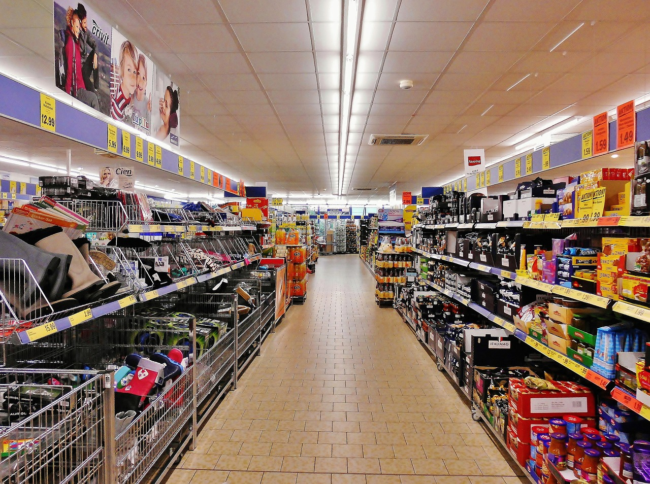 German supermarkets grocery stores