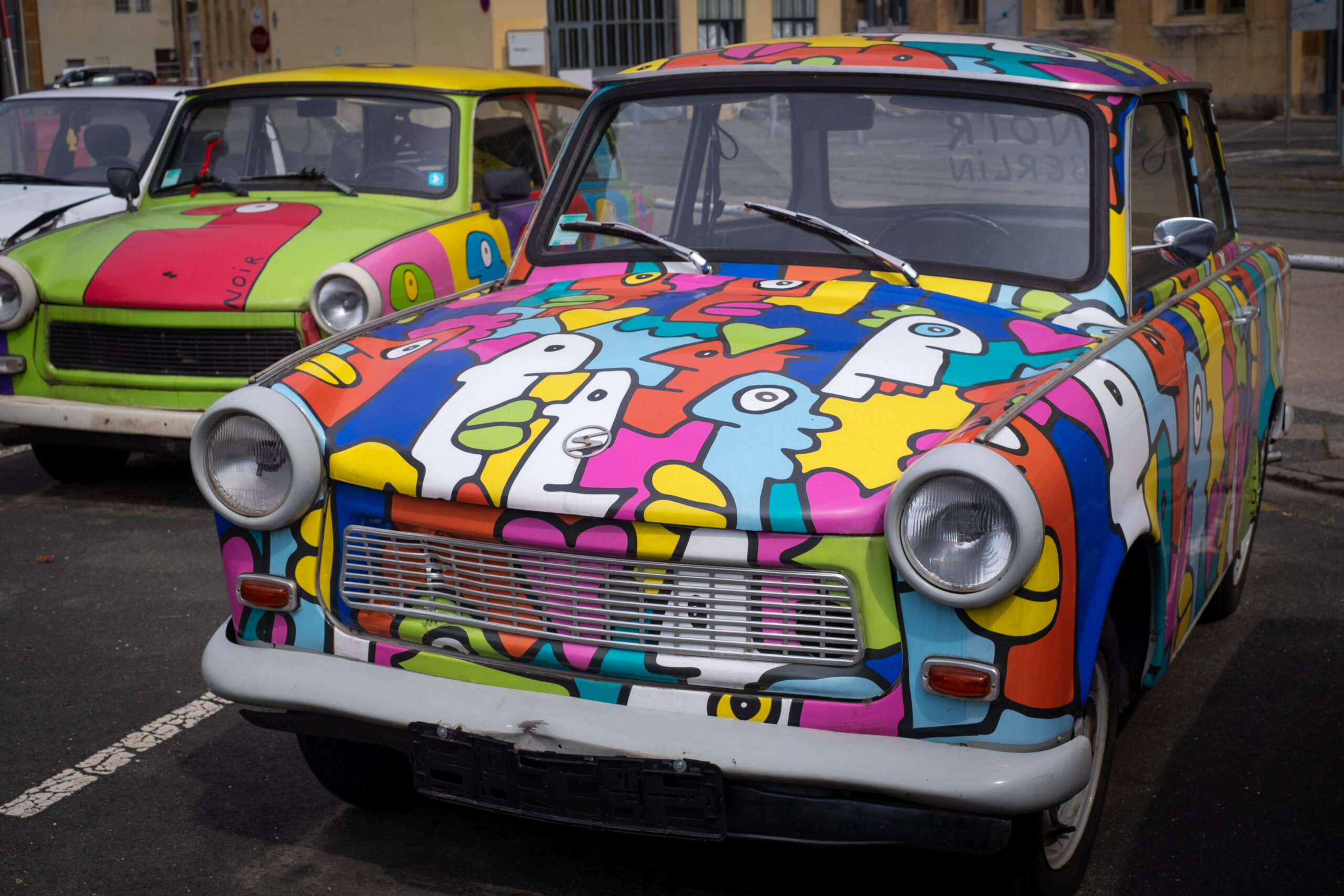 trabant colorful Berlin